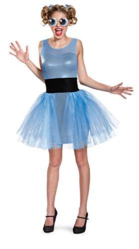 Disguise Bubbles Deluxe Erwachsenenkostüm für Damen - Blau - Small