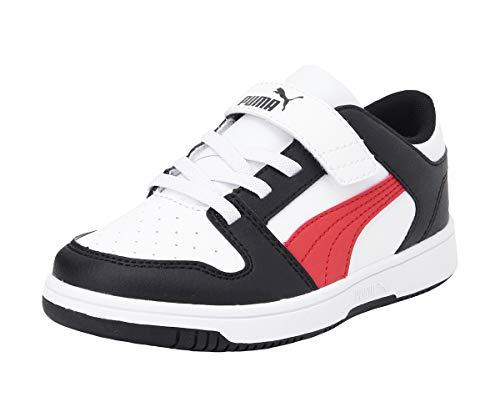 PUMA - Sneakers Bimbo Rebound Layup Lo SL V PS Scarpe Bambino 370492 07 Bianco - 29, Bianco