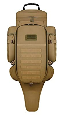 East West U.S.A RT538/RTC538 Tactical Molle Military Assault Rucksacks Backpack, Tan