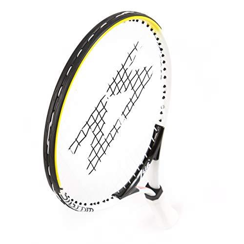 ZSIG - Raqueta de Tenis Infantil (19 Pulgadas), Color Amarillo y Blanco