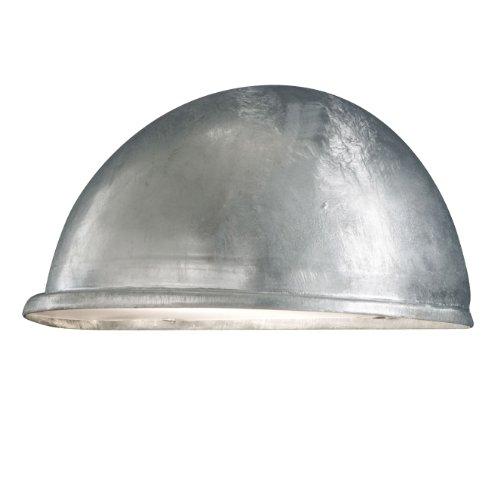 Konstsmide Torino 7326-320 wandlamp B: 28 cm D: 14 cm H: 13,5 cm / 1x40 W / IP23 / gegalvaniseerd/verzinkt