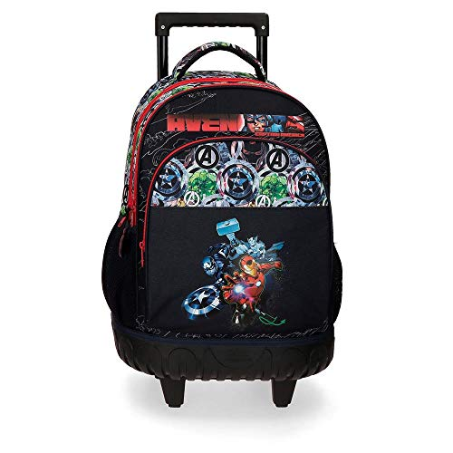 Marvel Avengers Armour Up Zaino trolley 2R Azzurro 34x44x21 cms Poliestere 28.9L