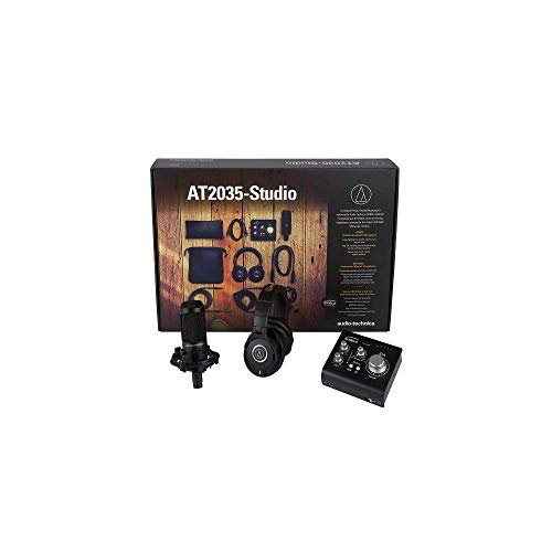Audio-Technica AT2035-Studio Das ultimative Projektstudio-Bundle