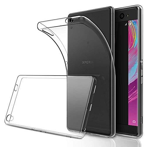 Funda Sony Xperia XA Ultra TPU Transparente Slim Silicona Case Cover [Anti-arañazos] para Sony Xperia XA Ultra