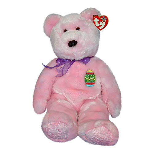Eggs the Pink Easter Teddy Bear - Ty Beanie Buddies [Toy]