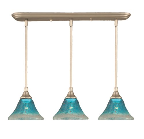 Toltec Lighting 25-BN-458 Multi Light Mini-Pendant Brushed...