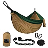 Gold Armour Camping Hammock - Extra Large Double Parachute Hammock (2...