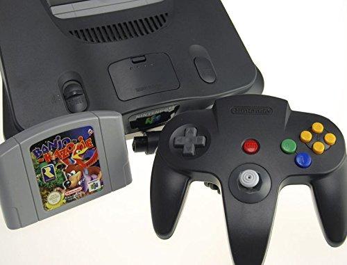 Nintendo 64 Konsole mit Banjo Kazooie
