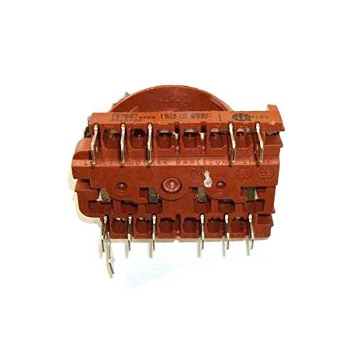 Sélecteur de turbo de four et de plaque de cuisson Teka HE600/10 HE610ME