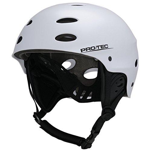 Pro-Tec Protec – Casque pour Homme Multicolore M Blanc/Satin