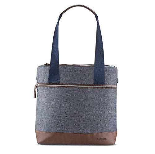 Inglesina Mala/mochila Back Bag para Sistema Aptica Tailor Denim Cinzento-escuro