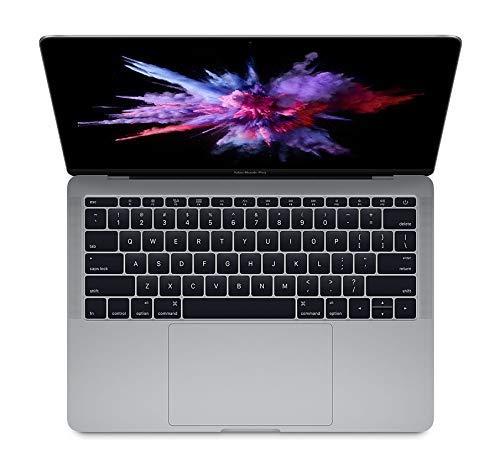 Apple MacBook Pro 13.3' (i5-7360u 2.3 GHz 8gb 256gb SSD) QWERTY U.S Keyboard MPXQ2LL/A Mid 2017 Space Gray (Renewed)