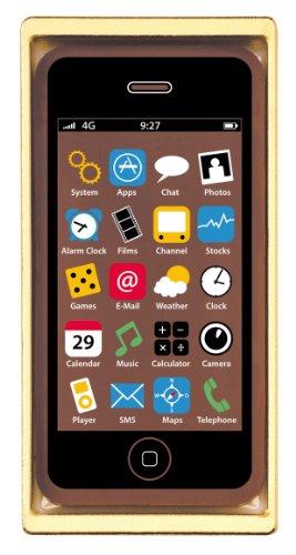 Heilemann Schokoladen Smartphone Vollmilch, 2er Pack (2 x 40 g)