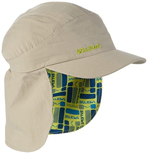 SALEWA Erwachsene Kappe Sun Protect Neck Gaitor K Cap, Juta/2080, M/53, 00-0000024730