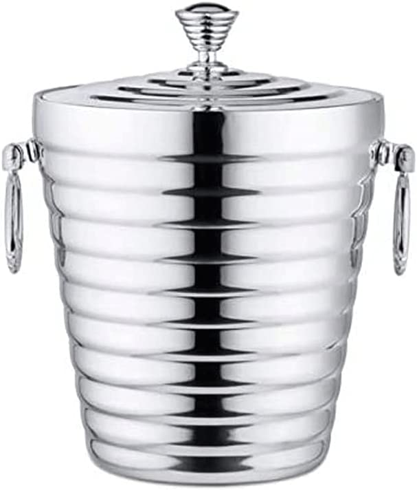 Cheap mail order sales HANHANDIAN Ice Ranking TOP12 Bucket with Lid and - Made Insulate Well Strainer