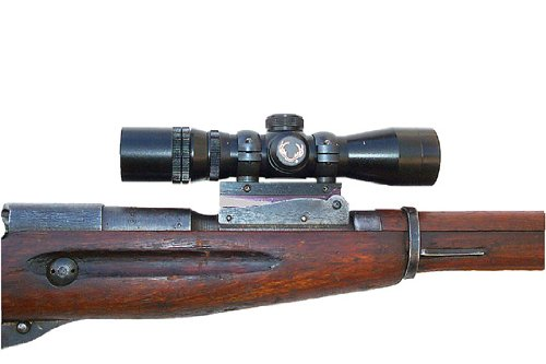 PM Mosin Nagant M44 and M38 Scout Mount with 1 Inch Rings