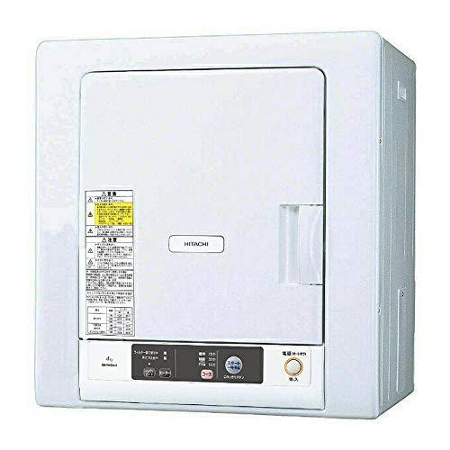 日立(HITACHI) 日立 4.0kg 衣類乾燥機HITACHI DE-N40WX-W