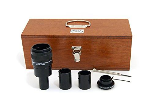日本製 高性能 ユニバーサルカメラアダプター (YA-2) 顕微鏡の画像をフルサイズ一眼レフカメラとCCDカメラに撮影できます。