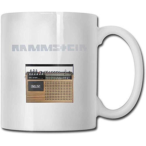 Ram-Ms-Tein Band bis Radio Kaffeetasse Keramik Tasse Geschenk für Männer und Frauen, die Becher lieben
