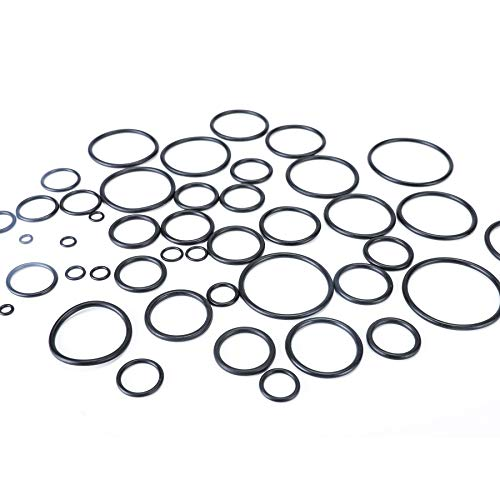 SAE Metric O Ring Kit Orings Assortment Set, 826-Piece Rubber O-Rings for Plumbing, Automotive, and Faucet Tap Repair