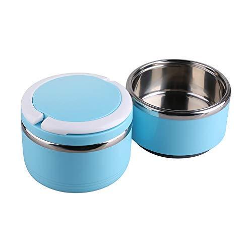 2 dieren huisdier lunchbox draagbare outdoor reizen huisdier voedsel water kom set roestvrijstalen hond kat lunchbox lunchbox kommen lekvrij met opvouwbare PP plastic handvat