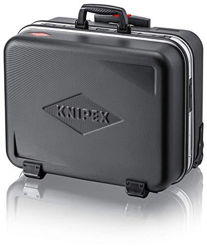 """KNIPEX 00 21 41 LE Werkzeugkoffer """"BIG Twin-Move"""" mit integrierten Rollen und Teleskopbügel leer"""