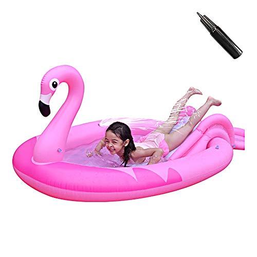 Anti-Slippery Zwembad voor kinderen opblaasbare glijbanen voor Backyard Fun Backyard Fountain Toys
