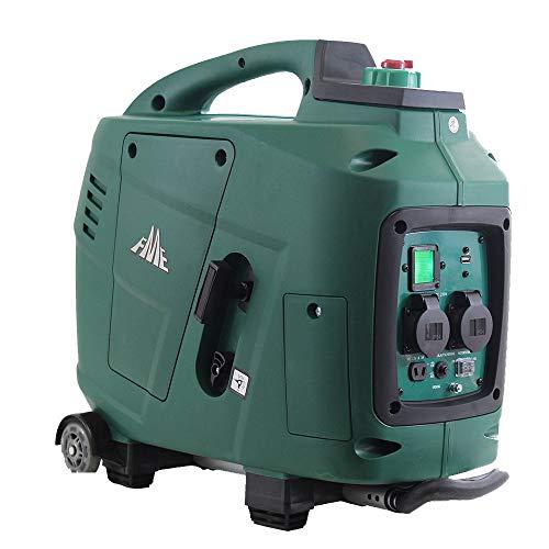 FME XG-SF 2600 (Inverter Generator mit Trolley und USB Anschluss) (Mobiler Generator, Stromerzeuger, Stromerzeugungsaggregat)