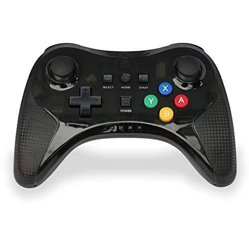 Forart Wii U Pro Controller, DT16 Wireless Controller für Wii U, Klassischer Wii U Pro Controller Kabelloses Bluetooth Gamepad mit USB-Kabel