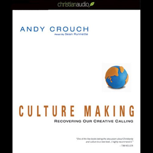 Culture Making audiobook cover art