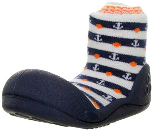 Attipas - chaussures / chaussons souples pour bébé - chaussures premiers pas - fille/garçon - RAINBOW - Vert - Pointure 24