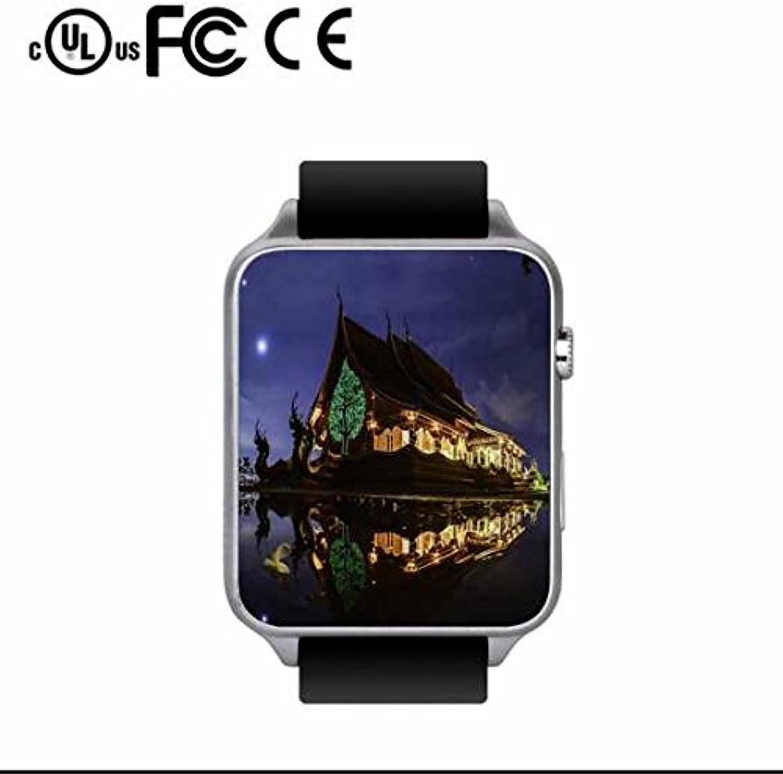 Luxus Outdoor Sports Smartwatch mit Blautdruck Herzfrequenzmesser Funktion,Sport Schrittzhler,Eingebaute Kamera,Email Benachrichtigung,SIM TF-Karte unterstützt Android und IOS-System