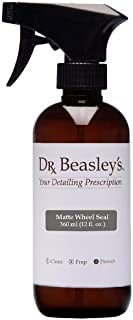 Dr. Beasley's Matte Wheel Seal - 12 oz., Designed for Matte Painted Wheels, Preserves Matte Appearance, Readily Biodegradable