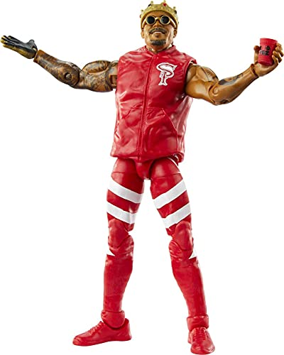 WWE Montez Ford Elite Collection Series 81 Action Figure 6 in Posable Collectible Gift Fans Ages 8 Years Old and Up