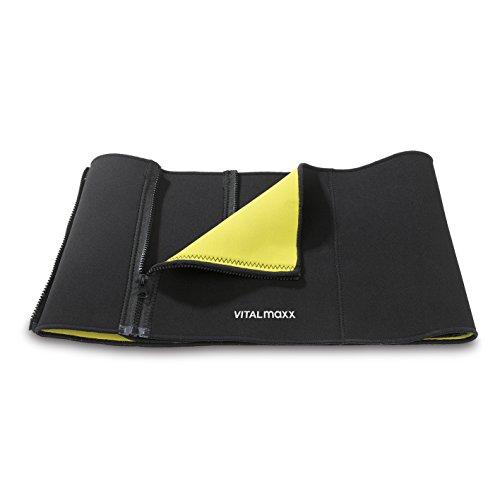 VITALmaxx Bauchmuskel-Gürtel Power Shapers | Waist Trainer für Damen und Herren | Bauch-Weg-Gürtel zum Abnehmen