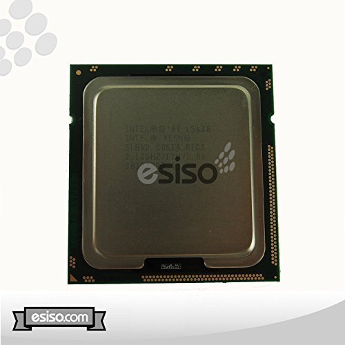Intel Xeon L5630Quad Core Prozessor LGA13662.13GH/Z 12MB Smart Cache 5.86GT/S QPI TDP 40W slbvd bx80614l5630