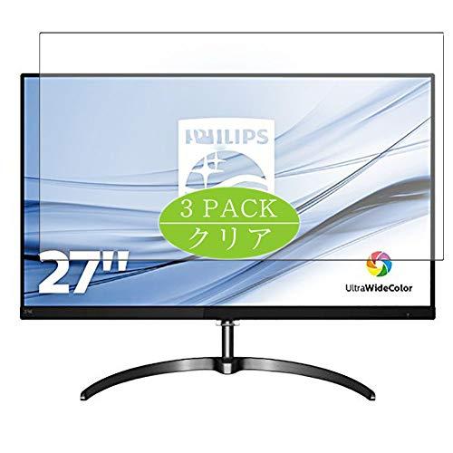 VacFun 3 Piezas HD Claro Protector de Pantalla para Philips 276E8 / 276E8F / 276E8FJAB / 00 27' Display Monitor, Screen...