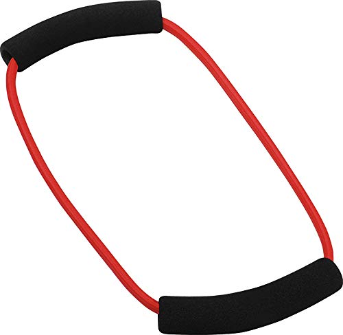 Deuser 112634 Ring Fitnessband, Rot, One size