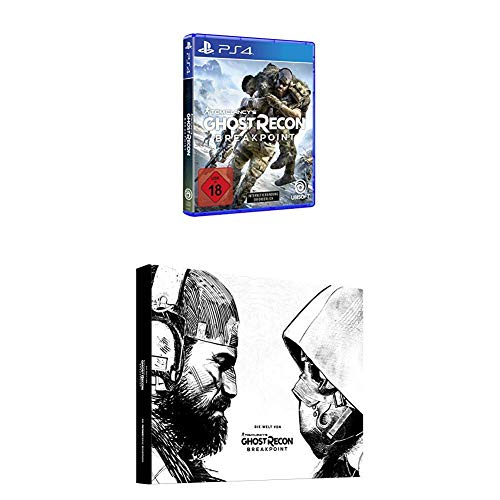 Tom Clancy's Ghost Recon Breakpoint Standard - [PlayStation 4] + Die Welt von Tom Clancy's Ghost Recon Breakpoint - Lösungsbuch