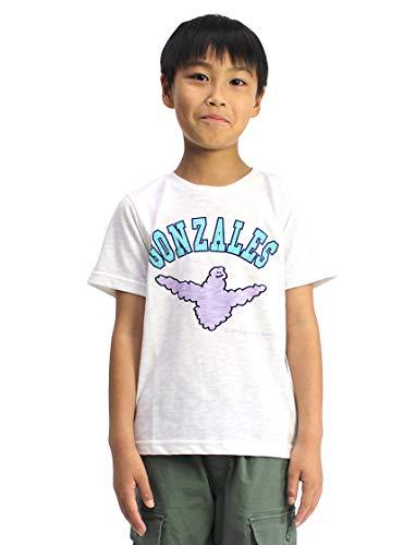 [Mark Gonzales] Tシャツ マーク・ゴンザレス クラウドエンジェル KIDS (90, ホワイト)