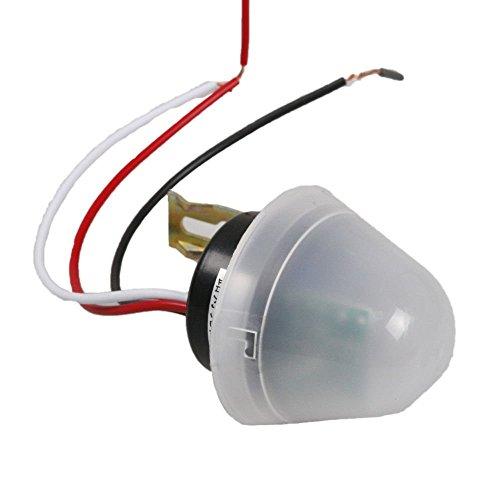 CSLU-Tool AS-20 12V Adjustable Waterproof Light Control Swith Photo Sensor Switch