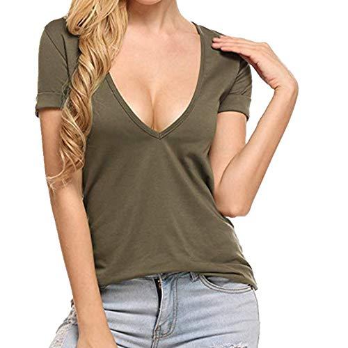N\P Fábrica de ventas directas Amazon Ebay AliExpress primavera y verano b Color sólido Casual Slim camiseta de las mujeres