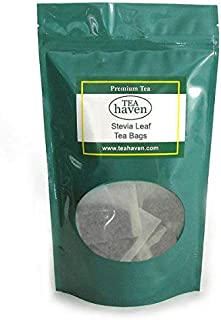 Stevia Leaf Herb Tea Stevia Rebaudiana Herbal Remedy - 50 Tea Bags