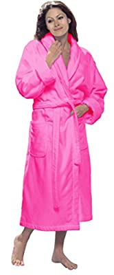 byLora, Terry Cotton Adult Robe, Shawl Style