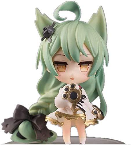 YUSHIJIA Regalos De Juguete Modelo De Personaje Desde la Figura Azur Hecha a Mano Akashi & Laffey Figure Anime Girl Figure Anime Chibi Figura (Color: Akashi) Estatua de PVC (Color : Akashi)
