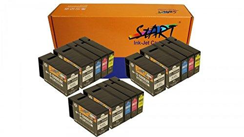 Chip de Cartuchos de Tinta compatibles con Canon PGI1500XL Negro, Cian, Magenta, Amarillo, Color 3 lotes + 3 Negros