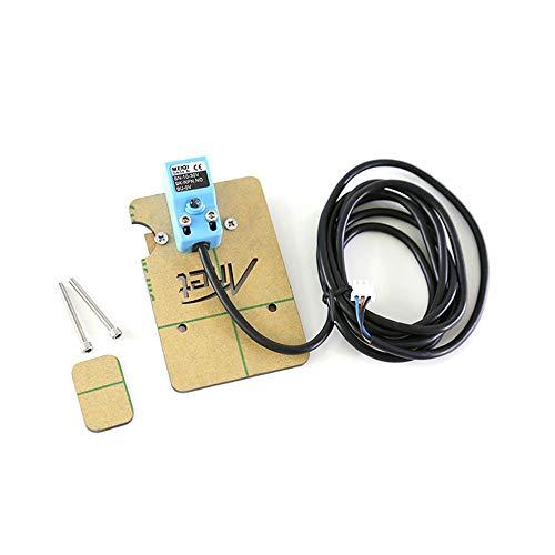 Sensor de posición de nivelación automática con placa de montaje y tornillos para impresora 3D Anet A8 RepRap Prusa DIY i3