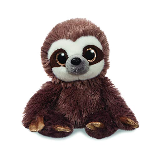 Aurora, 61198, Sparkle Tales, Harvey The Sloth, 7In, Soft Toy, Marrone