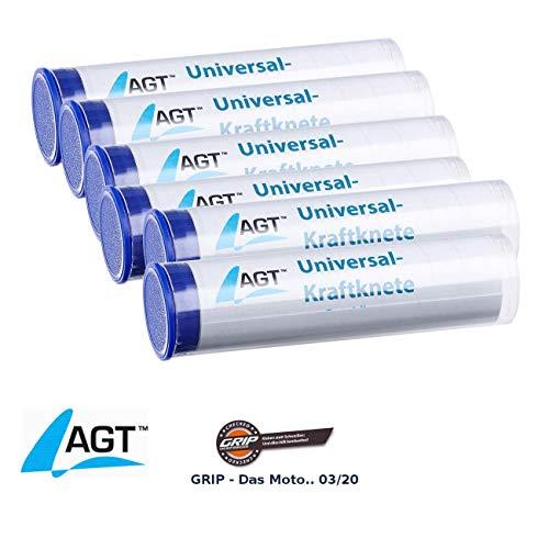 AGT Reparaturknete: 6er-Pack Universal-Kraftknete: 2-Komponenten-Kleber aus Epoxidharz (Powerknete)