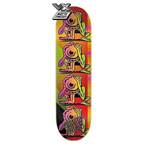 SANTA CRUZ Plateau Skate Afterglow eyegore vx Deck 8.5 x 32.2